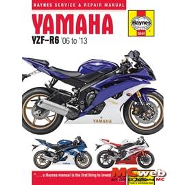 Haynes v rldsledande mekmanualer f r mc yamaha yzf r6 for Yamaha sports plaza promo code
