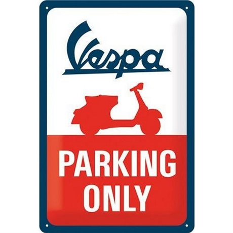 VESPA-PARKING ONLY